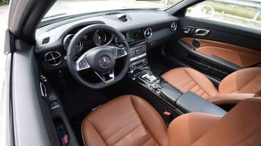 Mercedes SLC roadster 2016 - interior 2