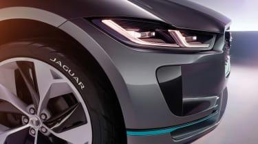 Jaguar I-Pace - studio front detail