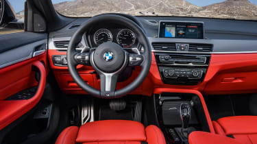 BMW X2 M35i - interior