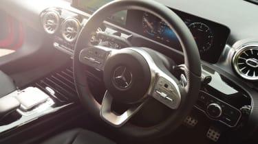 Mercedes A-Class - steering wheel