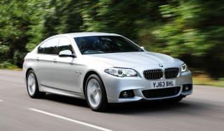 BMW 520d front action