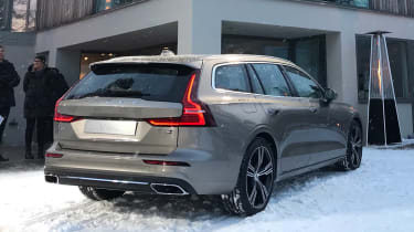 Volvo V60 - reveal rear