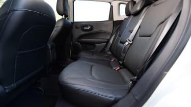 Jeep Compass - rear seats