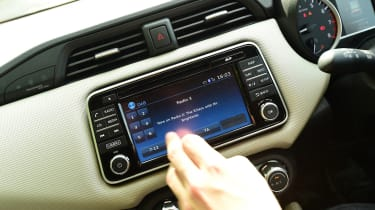 Nissan Micra long-term review - screen