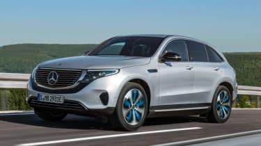 Mercedes EQC - front action