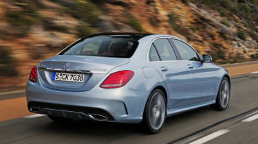 Mercedes C-Class 2014 rear tracking