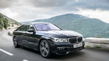BMW 740Ld xDrive - front/side