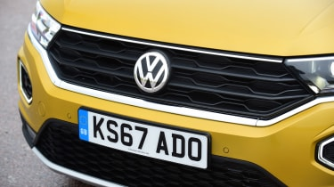 Volkswagen T-Roc - grille