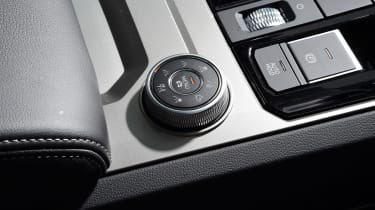 Volkswagen Touareg - drive select control