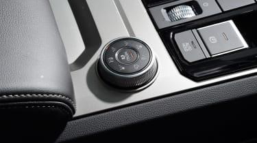 Volkswagen Touareg - drive select control