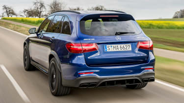Mercedes AMG GLC 63 S - rear
