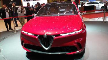 Alfa Romeo Tonale - Geneva full front