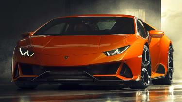 Lamborghini Huracan facelift - front static