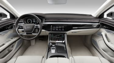 New Audi A8 unveiled - interior