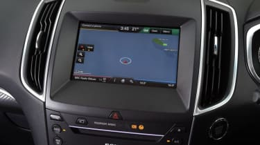 Ford Edge - sat-nav