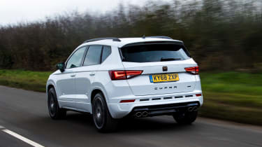 Cupra Ateca - rear tracking