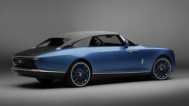 Rolls-Royce Boat Tail - rear studio