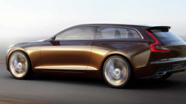 Volvo Concept Estate rear side