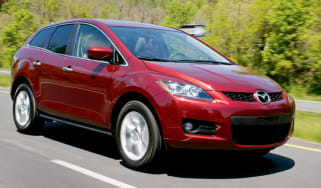 Front view of Mazda CX-7