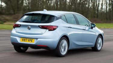 Vauxhall Astra diesel - rear