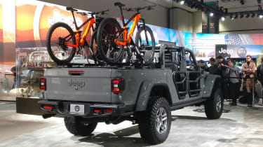 Jeep Gladiator - LA Motor Show - rear