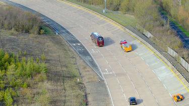 Britain's driverless car network - banked circuit