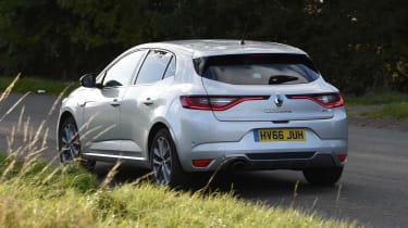 Renault Megane - rear action