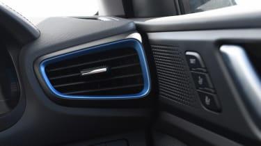 Hyundai Ioniq Plug-in - interior detail