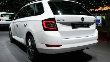 Skoda Fabia Combi facelift - Geneva rear