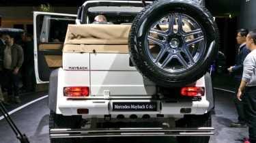 Mercedes-Maybach G 650 Landaulet - Geneva rear