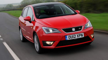 SEAT Ibiza ST front tracking