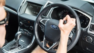 Disability driving feature - steering wheel