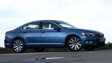 """""""VW didn't fare too well in our Driver Power 2014 satisfaction survey, but the Passat's build quality is excellent."""" - James Disdale, road test editor"""