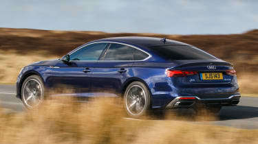 Audi A5 Sportback - side action