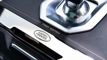 Range Rover Evoque - plaque