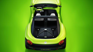 Volkswagen ID. Buggy concept - rear above