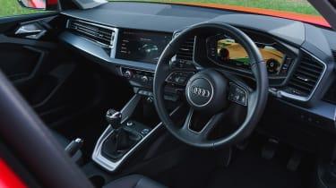 Audi A1 - cabin