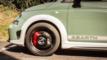 Abarth 695 70th Anniversario Shelsley Hill Climb - wheel