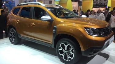 Dacia Duster - Frankfurt front