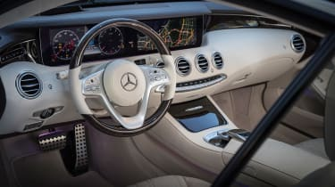 Mercedes S-Class coupe - steering wheel
