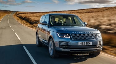 Range Rover review - front