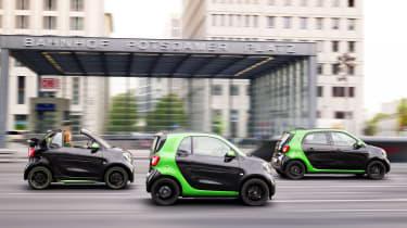 Smart Electric Drive range side