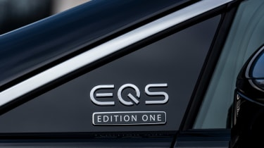 Mercedes EQS - EQS badge