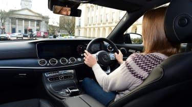 Mercedes E 300 de - long-term review - driving