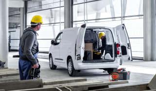 Toyota Proace City van - rear