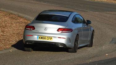 Mercedes C-Class Coupe - rear cornering