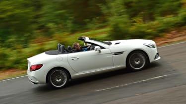 Mercedes SLC 180 - side