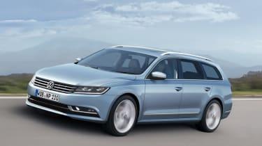 New VW Passat estate