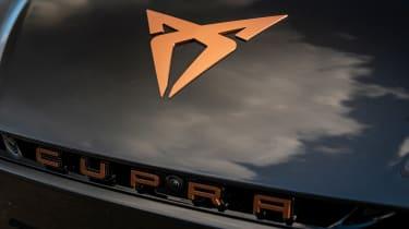 Cupra Born - front badge