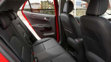 Triple test –Kia Picanto - rear seats